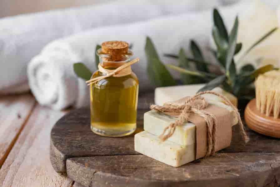 Olivenol-hautpflege